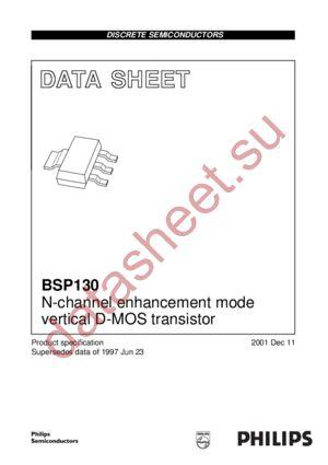 BSP130 datasheet скачать даташит