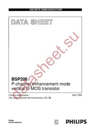 BSP206 datasheet скачать даташит