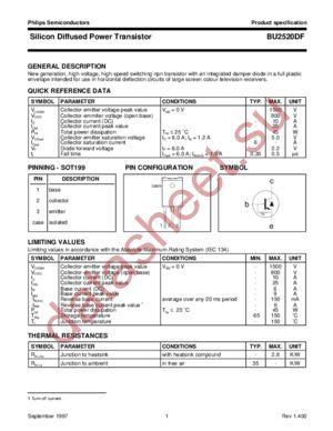 Datasheet download bu2520df