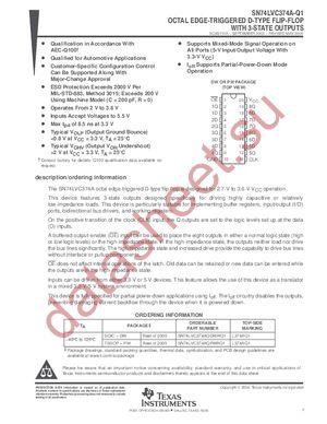 lvc573a datasheet на русском pdf