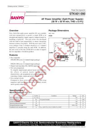 STK401-090 datasheet u0441u043au0430u0447u0430u0442u044c u0434u0430u0442u0430u0448u0438u0442.