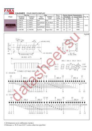 A-244CY datasheet скачать даташит