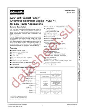 ACE1202LN14 datasheet скачать даташит