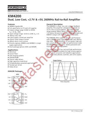 KM4200IM8TR3 datasheet скачать даташит