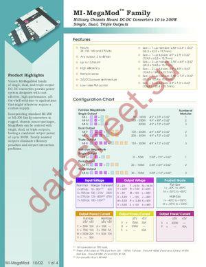 MI-P5T0-MYX datasheet скачать даташит