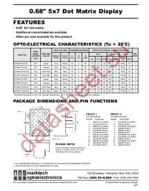 MTAN7170M-12A datasheet скачать даташит