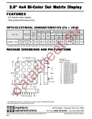 MTAN6621-G datasheet скачать даташит