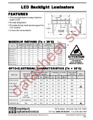 MTBL1410-RG datasheet скачать даташит
